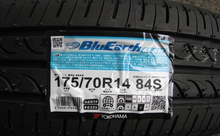 ブルーアースAE-01F_175/70R14