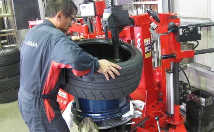 ADVAN Racing GT 20インチ 組み換え