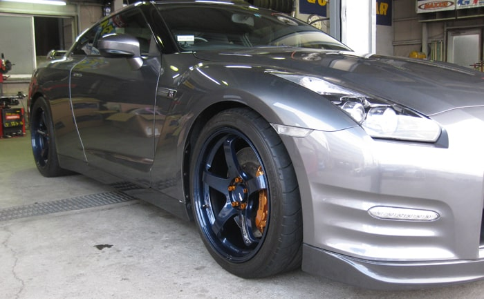 R35 GT-R ADVAN Racing GT 20インチ