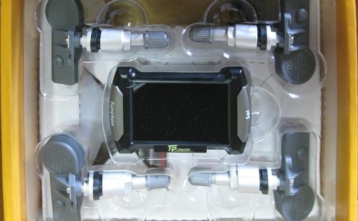 ホイール装着式バルブ型空気圧センサー