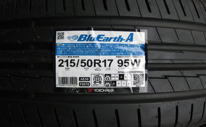 BluEarth-A 215/50R17