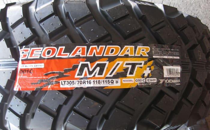 ジオランダーM/T 305/70R16