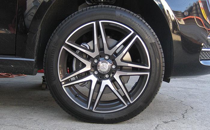 メルセデスベンツ-純正タイヤ-コンチスポーツコンタクト5