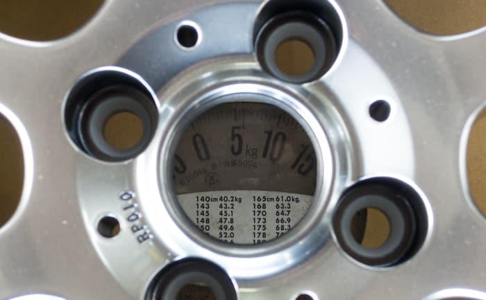 BBS ホイール 重さ 16インチ