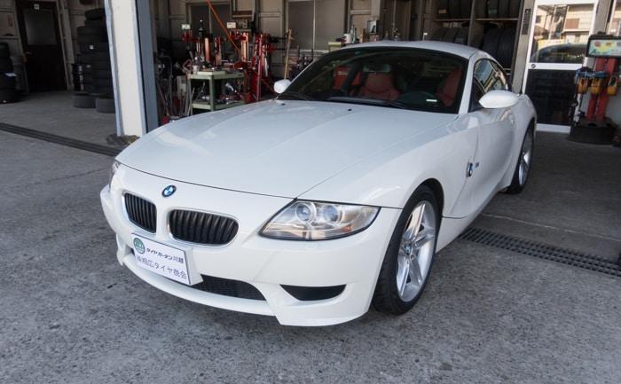 BMW Z4 タイヤ交換