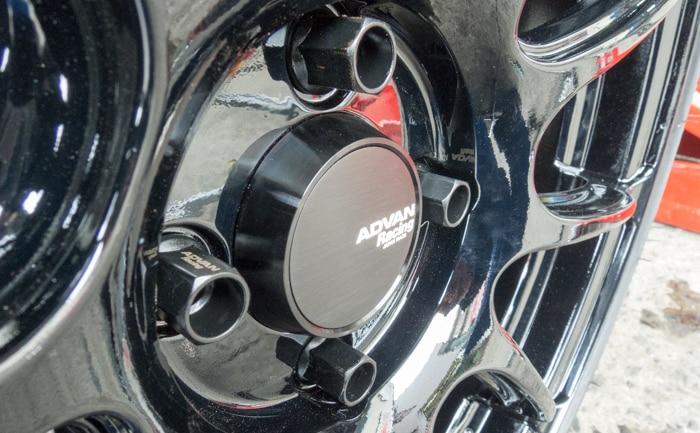 アドバンレーシングRZⅡセンターキャップ ミドル