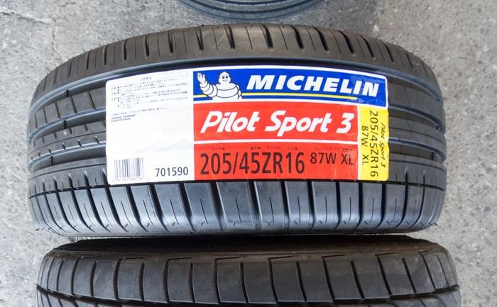 ミシュラン パイロットスポーツ 205/45R16