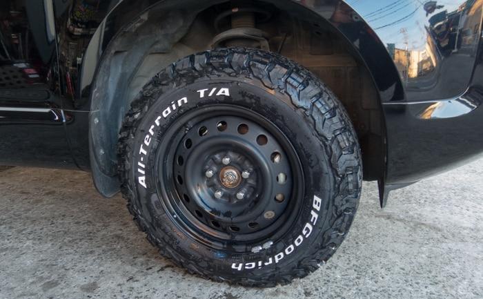 BFグッドリッチ オールテレーン タイヤ交換 川越市