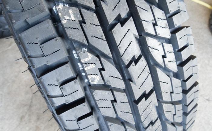 ジオランダーA/T G015 タイヤ交換 チューブ