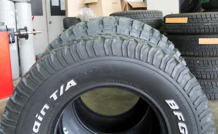 タイヤサイズ比較 33×12.5R15 31×10.5R15
