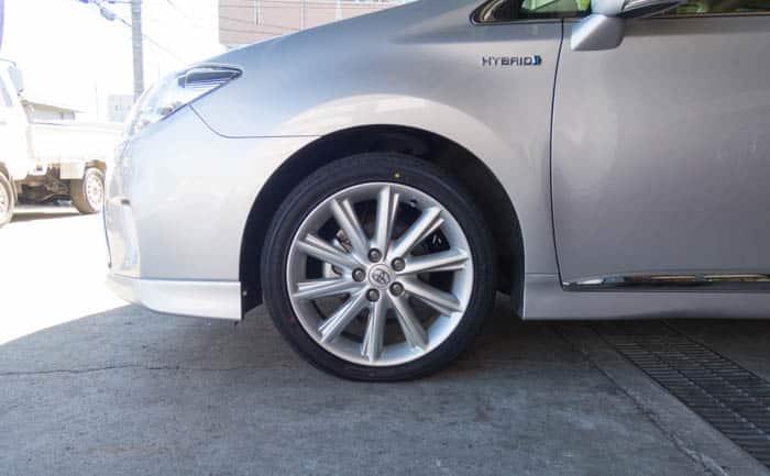 タイヤ交換 SAI 215/45R18