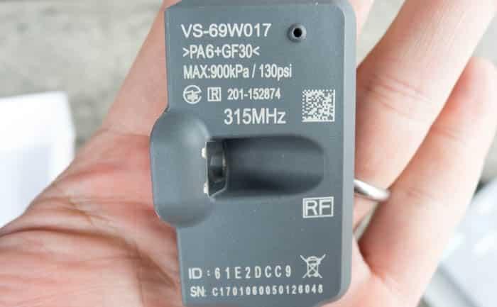 バルブタイプ センサー 空気圧