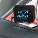 [TPMS]タイヤ空気圧センサーとモニターを装着しました[エアセーフ]