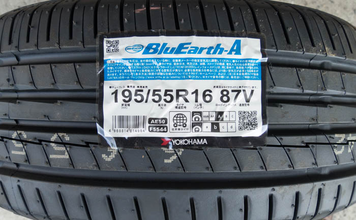 BluEarth-A 195/55R16 AE50