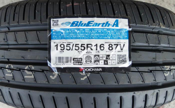 BluEarth-A 195/55R16 AE50