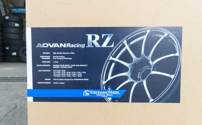 ADVAN Racing RZ ダークガンメタリック