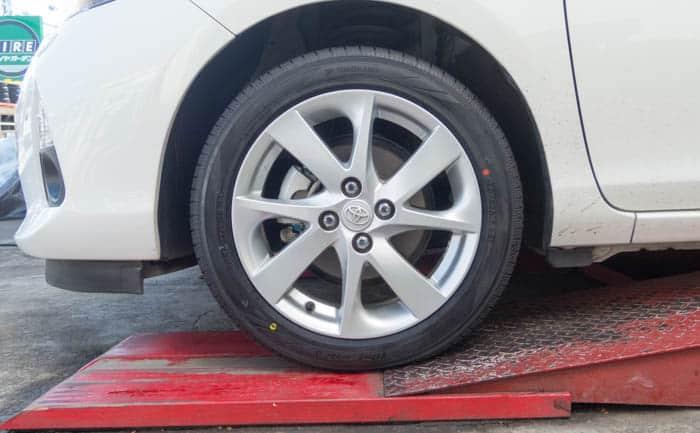 アクア おすすめ 低燃費タイヤ