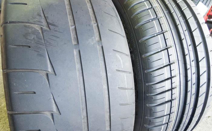 MR-S 比較 タイヤ