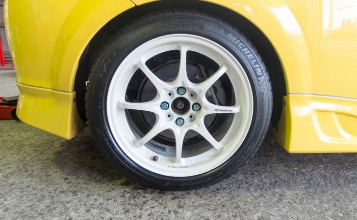 MR-S タイヤ交換 リア