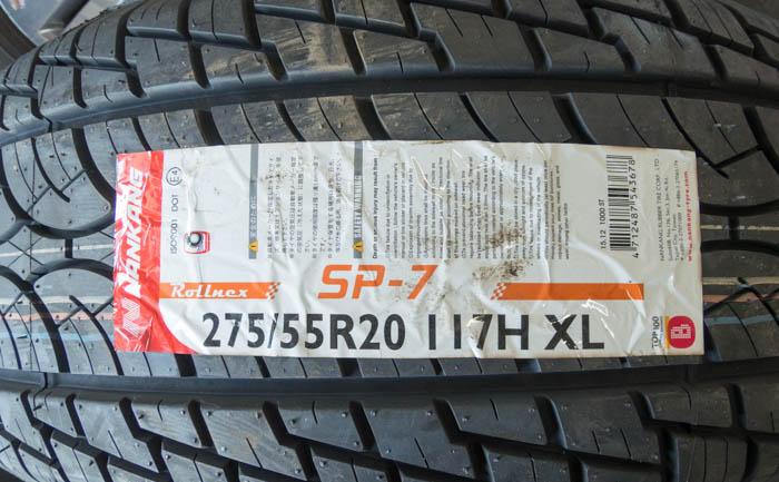 ナンカン SP-7 275/55R20 タイヤ