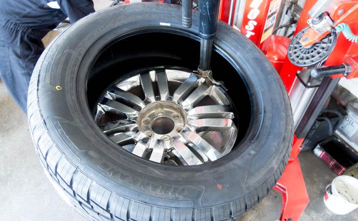 20インチ タイヤ交換作業 対応 可能