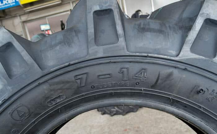 7-14 4PR タイヤ 安い