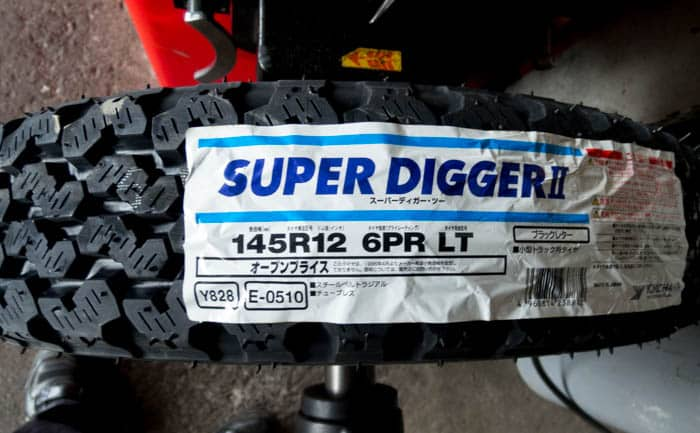 SUPER DIGGERⅡ 145R12 6PR