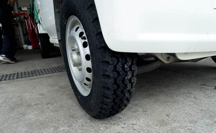 4WD 軽トラック タイヤ