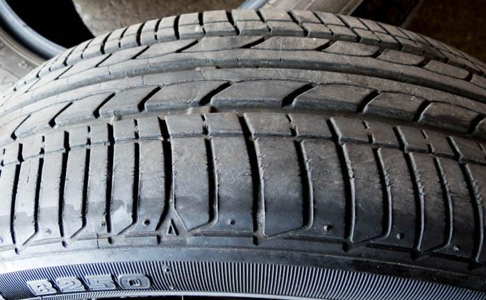 タイヤ ひび割れ N ONE ホンダ