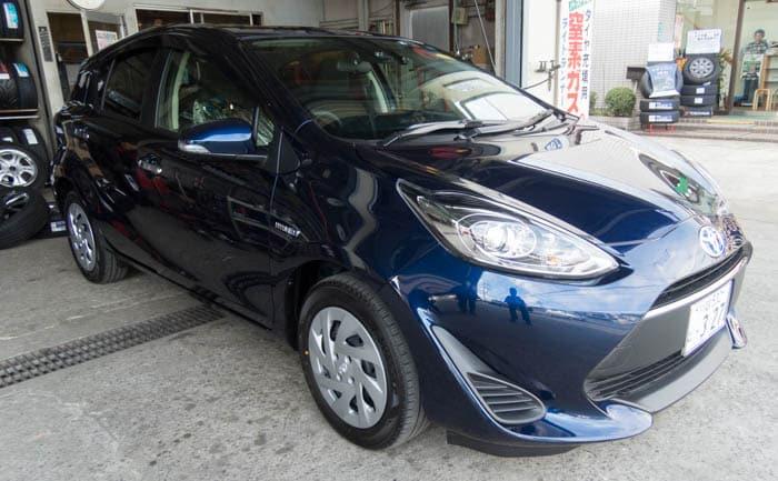 """アクア 特別仕様車 S""""Style Black"""" タイヤサイズ"""