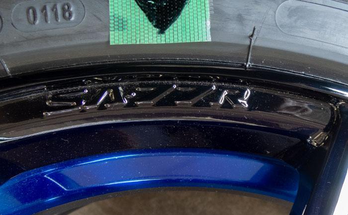 ホイール 塗装 修理