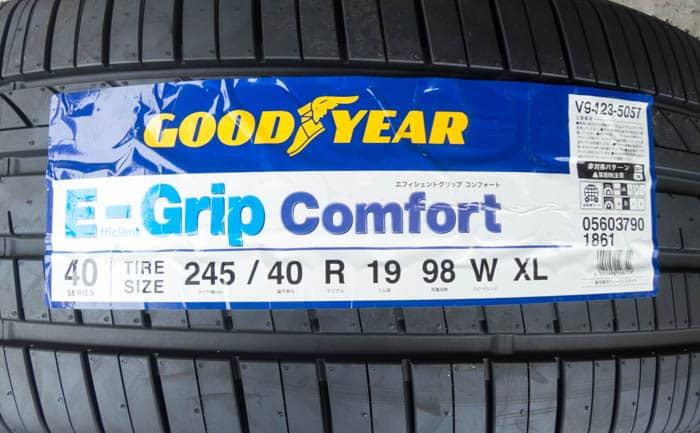 E-Grip Comfort 245/40R19
