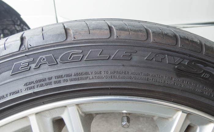 イーグル RV-F タイヤ