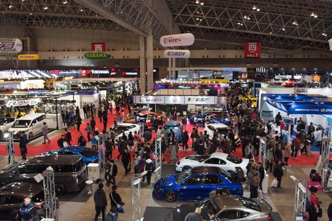 東京オートサロン タイヤ 展示
