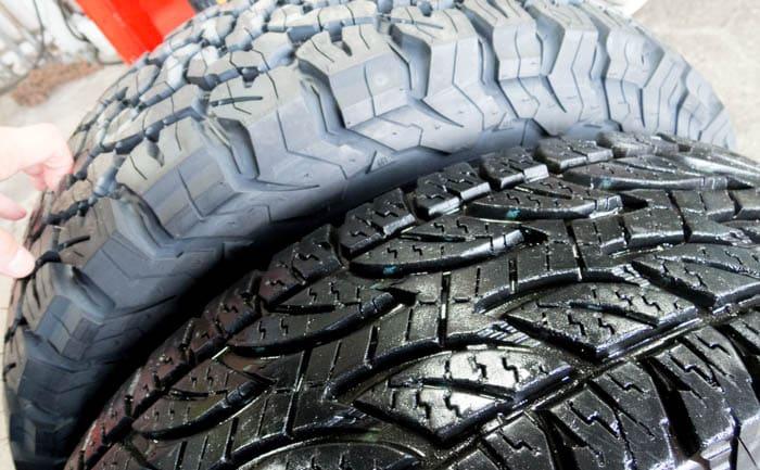 タイヤ交換 比較