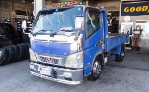 三菱のキャンターにおすすめ! ヨコハマタイヤのTY285、LT151Rを装着しました。[205/65R16]