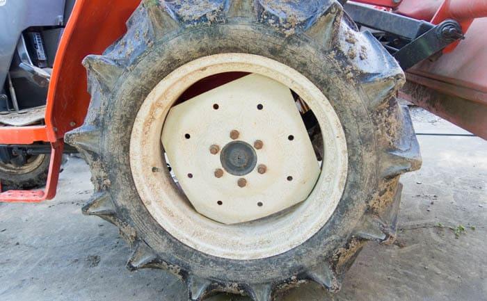 トラクター 耕運機 タイヤ交換 相広タイヤ