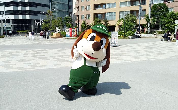 ガーディくん 相広タイヤ 川越市