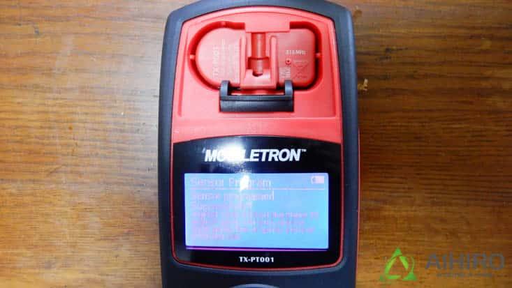 空気圧センサー ID読み込み