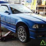 BMWのM3 E36型におすすめ!ブリヂストンの ポテンザRE-12Dを装着しました。[245/45R17]