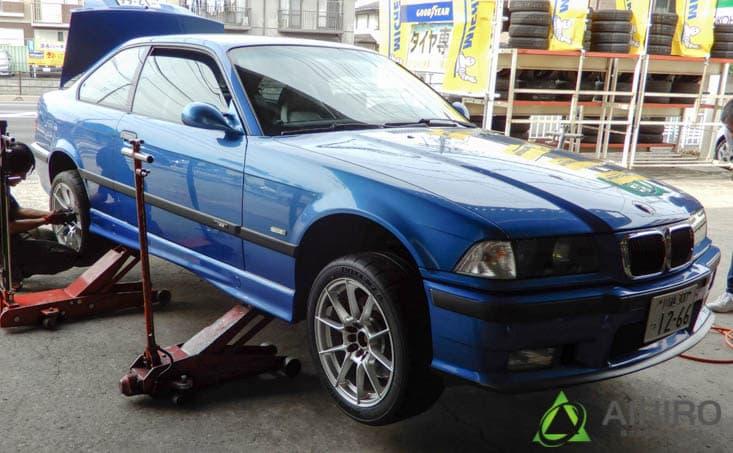 BMW タイヤ交換 相広タイヤ