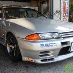 R32 GT-R 相広タイヤ タイヤ交換