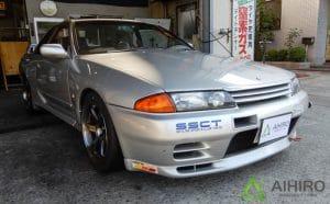 日産R32型GT-Rにオススメ!ブリヂストンのポテンザ RE-71Rを装着しました。[255/40R17]