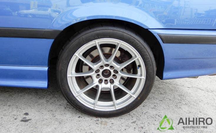 BMW タイヤ交換 ブリヂストン ポテンザ