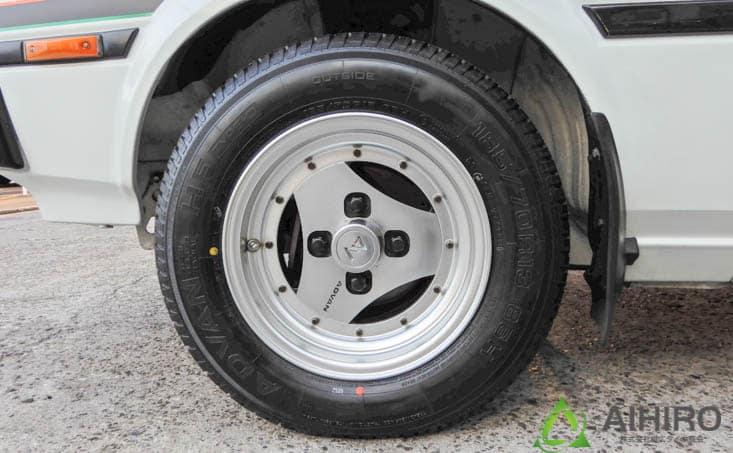 アドバンホイール TE71 相広タイヤ
