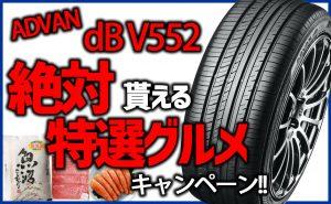 [お値打ち価格]ADVAN dB V552特選グルメキャンペーン[プレミアムタイヤ]