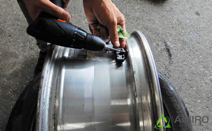 キャデラック ジオランダー 空気圧センサー