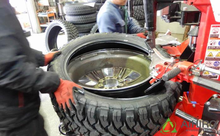 タイヤ交換 相広タイヤ CF3000