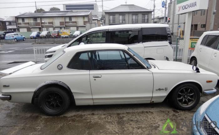 スカイラインGT-R ハコスカ 相広タイヤ