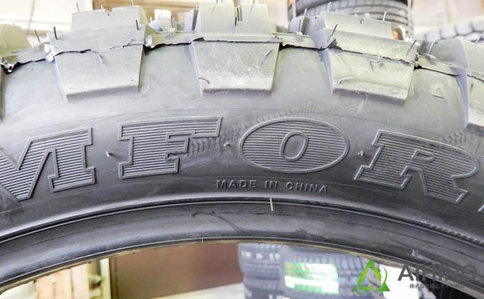ハマーH2 タイヤ交換 CF3000